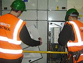 Commerical electrical testing and maintenance